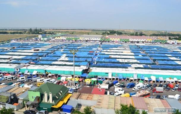 В Одессе захватили администрацию рынка Седьмой километр