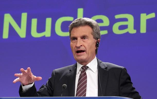 Комиссар ЕС: Необходимо  промежуточное решение  газового спора между РФ и Украиной