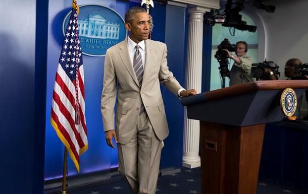 Обама против военного вмешательства США в ситуацию в Украине