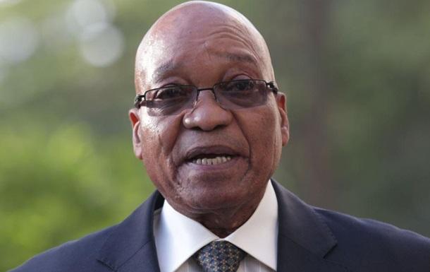 Президента ЮАР заставили опубликовать компромат на самого себя