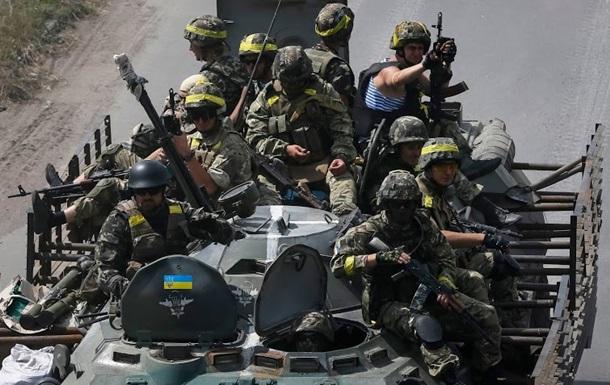 В СНБО говорят о наступлении силовиков в Луганской области