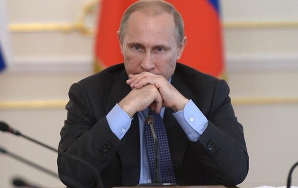 Путин призывает начать переговоры о государственности юго-востока Украины