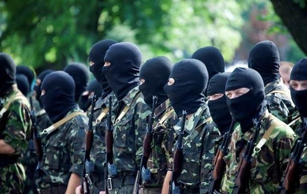 Батальон Шахтерск выходит из АТО