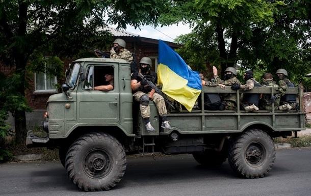 СНБО: Бойцы одесского подразделения Шторм без потерь вышли из окружения под Луганском