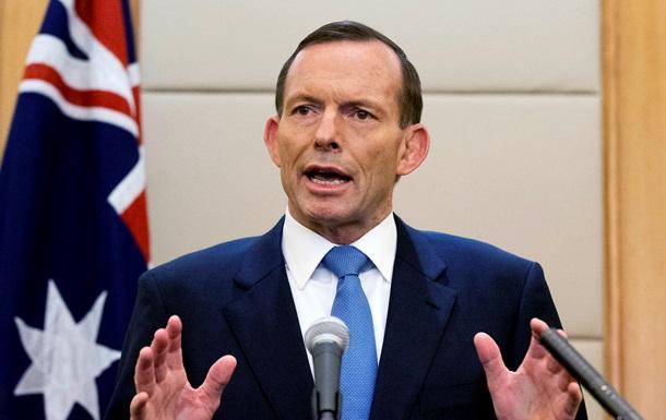 премьер Австралии Тони Эббот