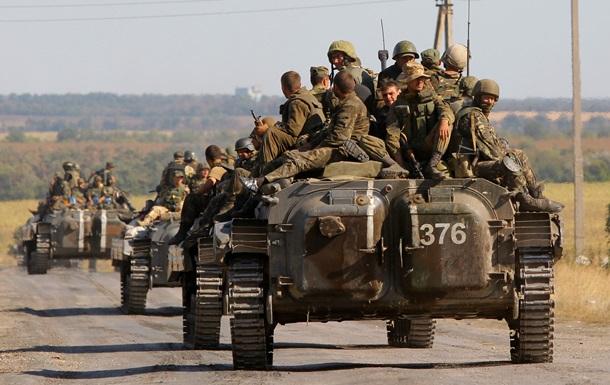 АТО в Украине - карта боевых действий сегодня, 1 сентября