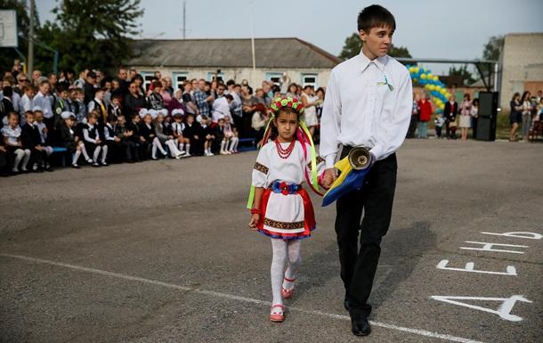 На Донбассе открылись меньше половины школ
