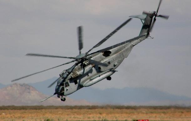 В Аденском заливе разбился военный вертолет США с 25 пассажирами