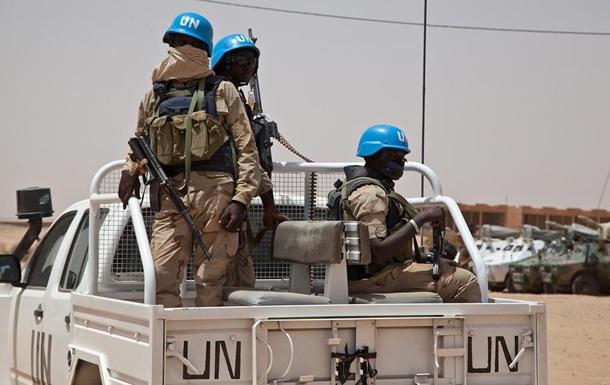 В Мали на мине подорвалась колонна с миротворцами ООН