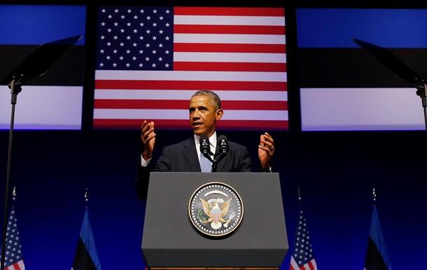 Обама в Эстонии назвал Россию государством-агрессором