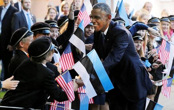 Прибалтийский вояж. Обама в Таллинне защищал Украину и обещал строить военные базы