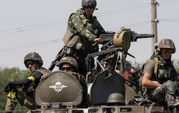 Позиции сил АТО обстреляли из систем Смерч