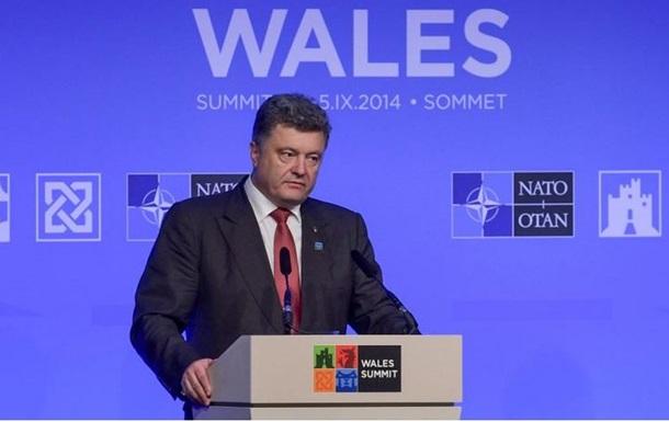 Порошенко: Решение о членстве в НАТО примут украинцы