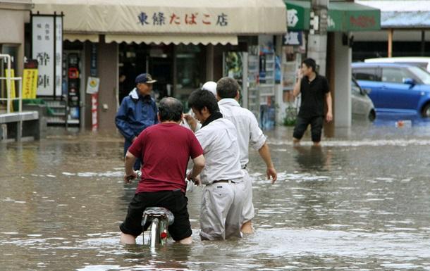 В Японии начались ливневые дожди, населению рекомендуют эвакуироваться