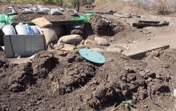 Сепаратисты показали оставленные позиции якобы украинских военных