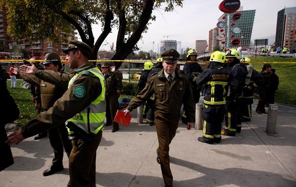 От взрыва в чилийском метро пострадали 14 человек