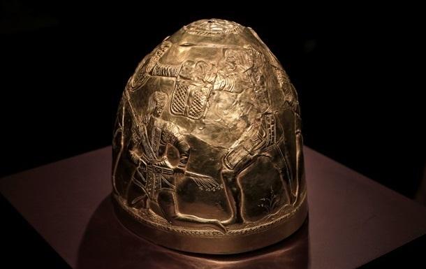 В Киев вернулась часть скифского золота