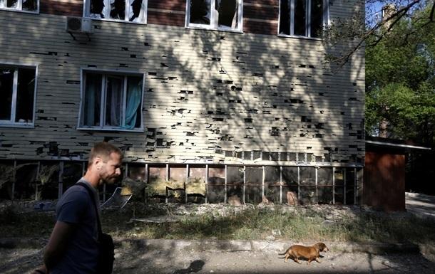 В Луганске по-прежнему отсутствуют свет и вода