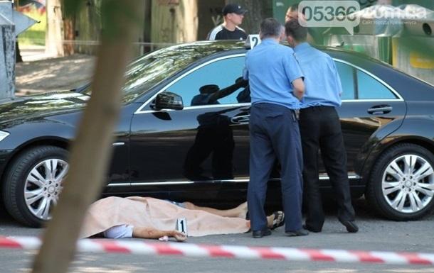 Милиция нашла оружие убийц мэра Кременчуга