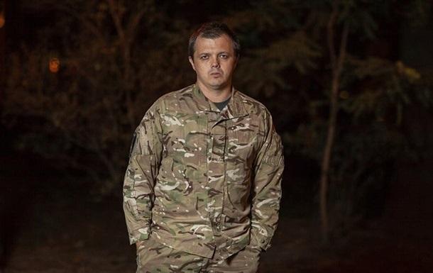 Семен Семенченко - фото командира батальона  Донбасс