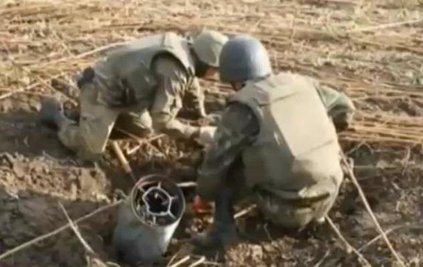 Минобороны показало, как обезвреживают мины на Донбассе