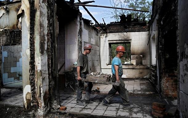 Убытки от боевых действий в Луганской области составили 200 миллионов гривен