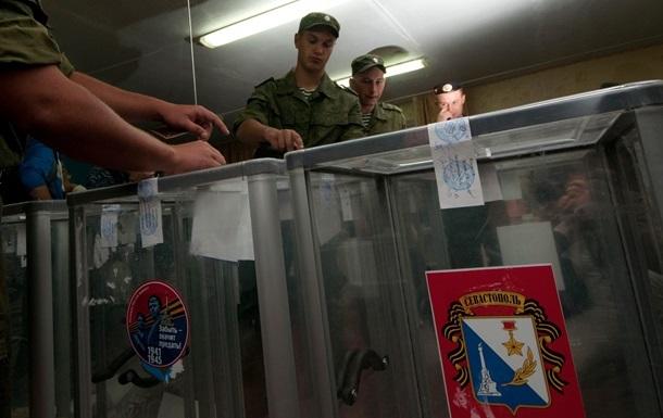 На выборах в Крыму лидирует Единая Россия