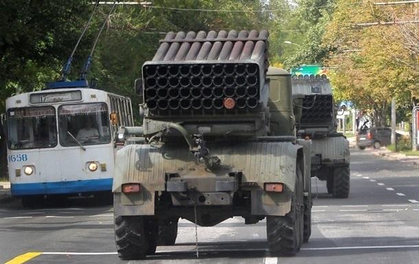 В Донецке не прекращается стрельба