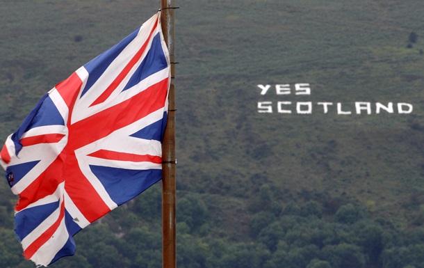 Британские политики призывают Шотландию не отделяться
