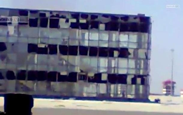 Военные показали, как выглядит донецкий аэропорт во время обстрелов