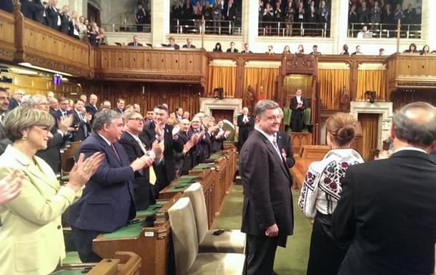 Подписано соглашение о предоставлении Канадой финансовой помощи Украине