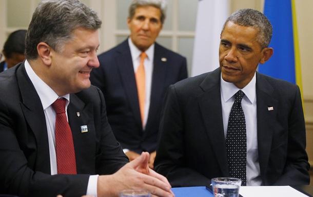 Обама рассказал о символическом значении визита Порошенко в США