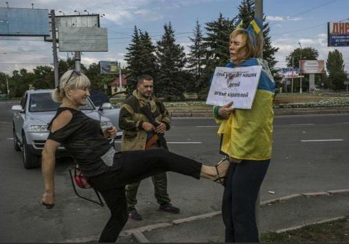 Страх и ненависть в Донбассе.