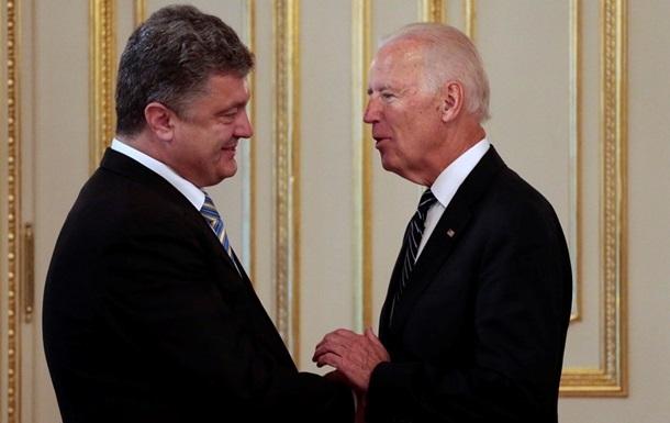 Порошенко и Байден обсудили дополнительную финансовую помощь Украине