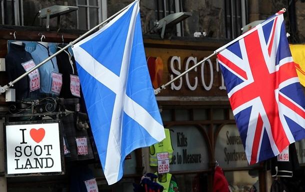 Столицу Шотландии заполонили сторонники единства Великобритании