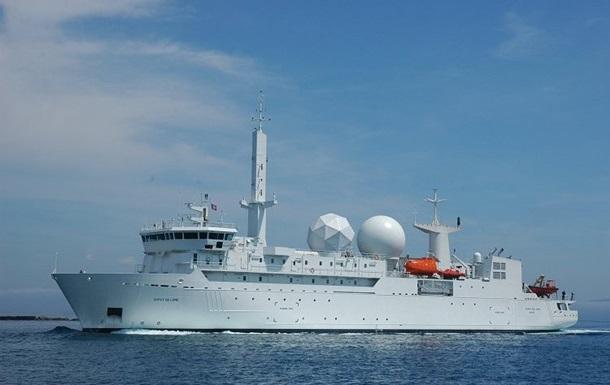 В Черное море вошел разведывательный корабль ВМС Франции – СМИ