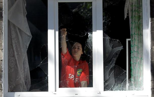 В Донецке слышны залпы орудий