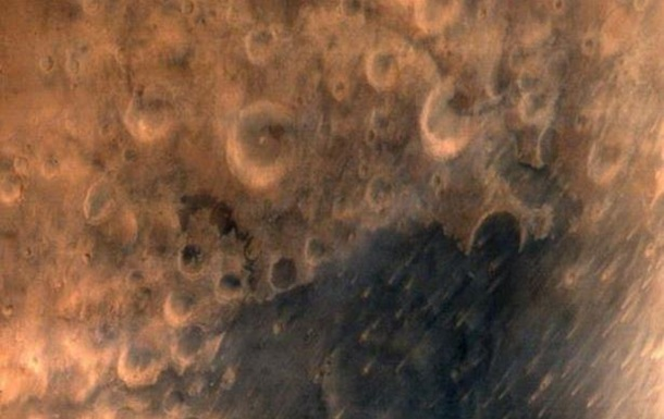 Индийский зонд показал свою первую фотографию Марса
