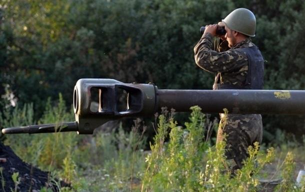 Сепаратисты обстреляли блокпосты под Мариуполем