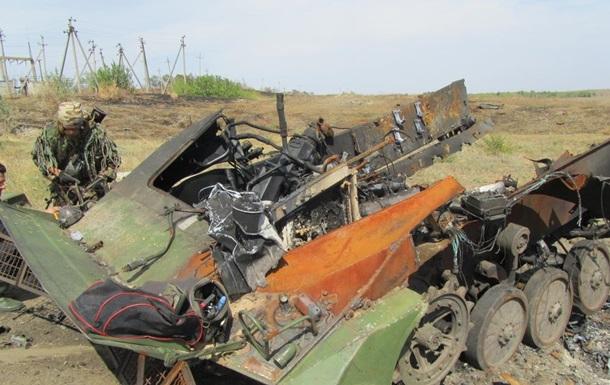 В Донецкой области обнаружены тела 11 погибших украинских солдат