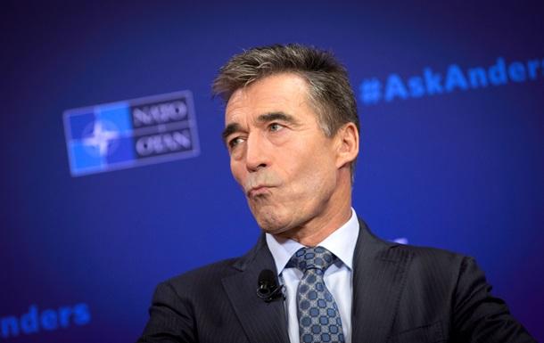 Бывшего генсека НАТО Расмуссена подвергли критике после его ухода в бизнес