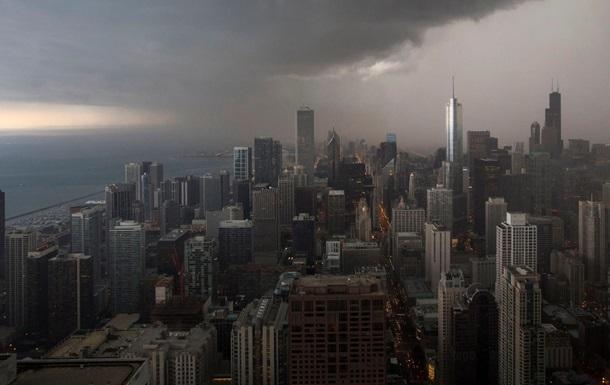 В Чикаго из-за ливней отменены или задержаны сотни авиарейсов