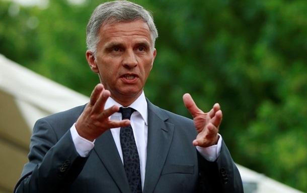 Председатель ОБСЕ требует немедленно прекратить боевые действия в Украине