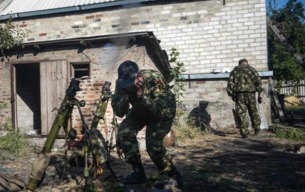 В четырех районах Донецка идет стрельба