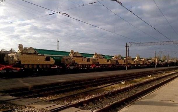Американские танки в Латвии разместят в 200 км от границы с Россией - СМИ