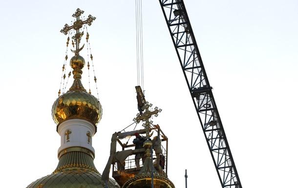 Донские казаки захватили собор Киевского патриархата в Луганске
