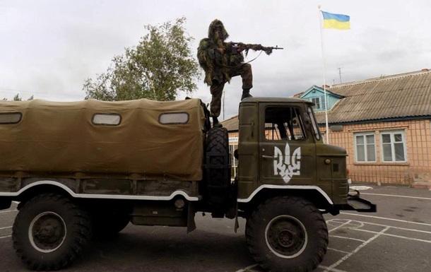 Задержанных бойцов Айдара отпустили под залог