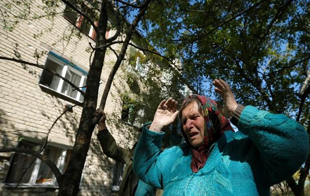 В Донецке обстреливают один из районов