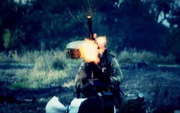 Видео с передовой: как бойцы АТО отбивают атаку в районе Песок