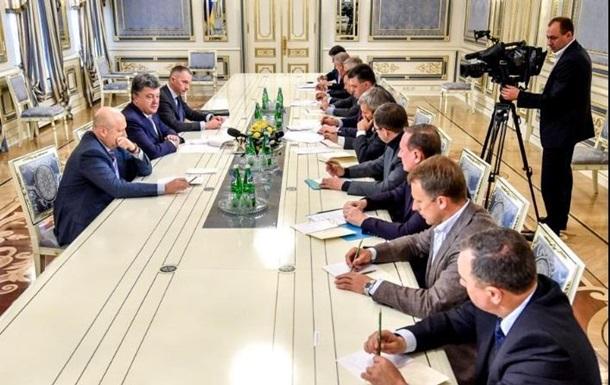 Рада должна принять антикоррупционные законы – Порошенко